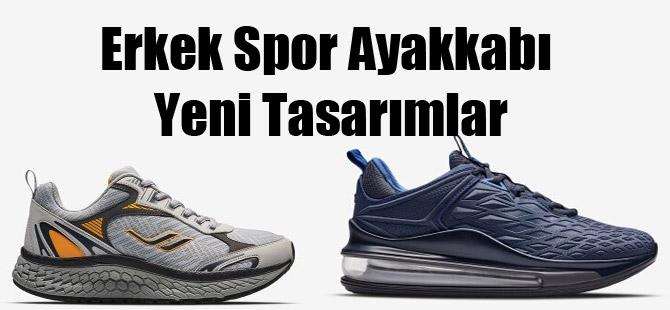 Erkek Spor Ayakkabı Yeni Tasarımlar