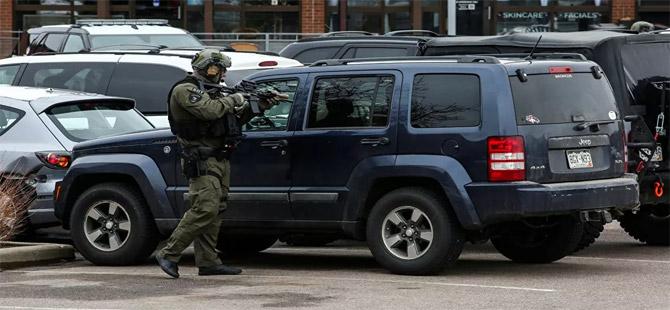 ABD'nin Colorado eyaletinde bir süpermakette silahlı saldırı: 10 kişi hayatını kaybetti