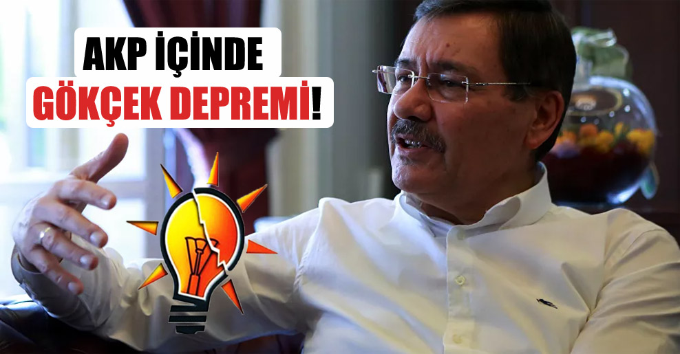 AKP içinde Gökçek depremi!
