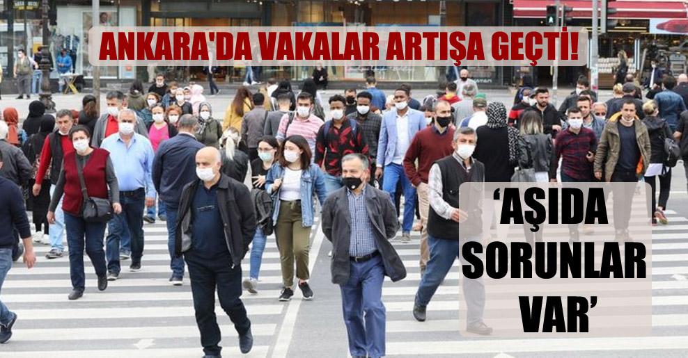 Ankara'da vakalar artışa geçti!