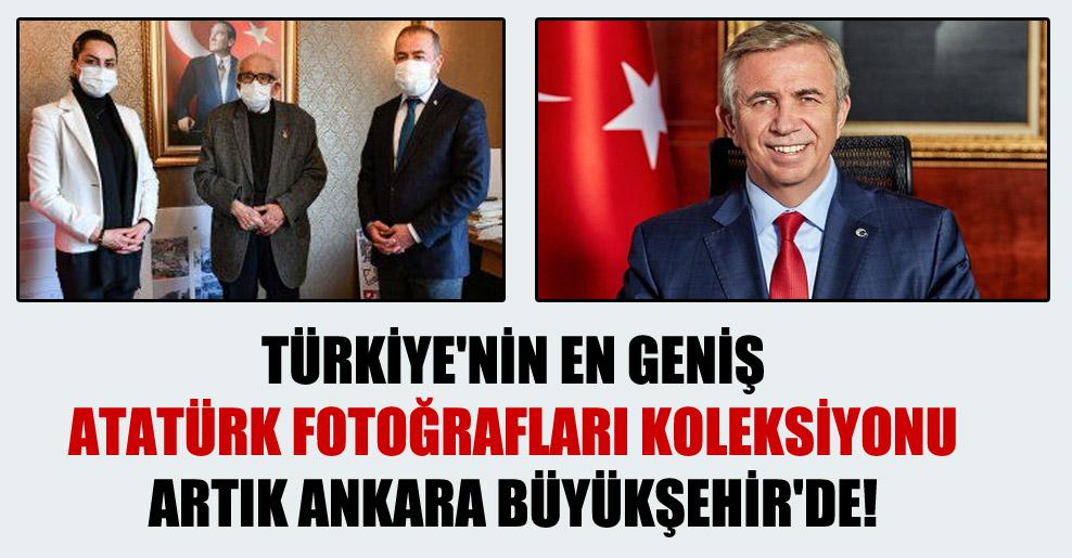 Türkiye'nin en geniş Atatürk fotoğrafları koleksiyonu artık Ankara Büyükşehir'de!