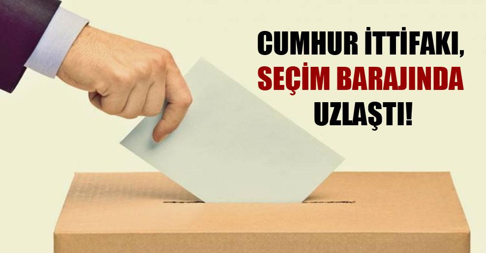 Cumhur İttifakı, seçim barajında uzlaştı!