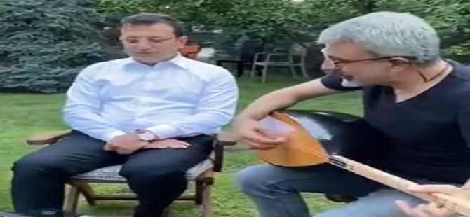 İmamoğlu türkü söyledi, sosyal medya yıkıldı