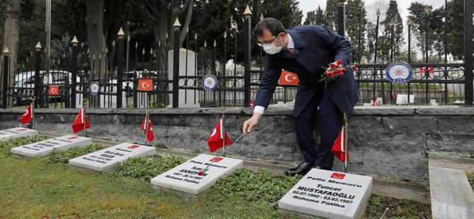 Çanakkale şehitleri İstanbul'da da anıldı!