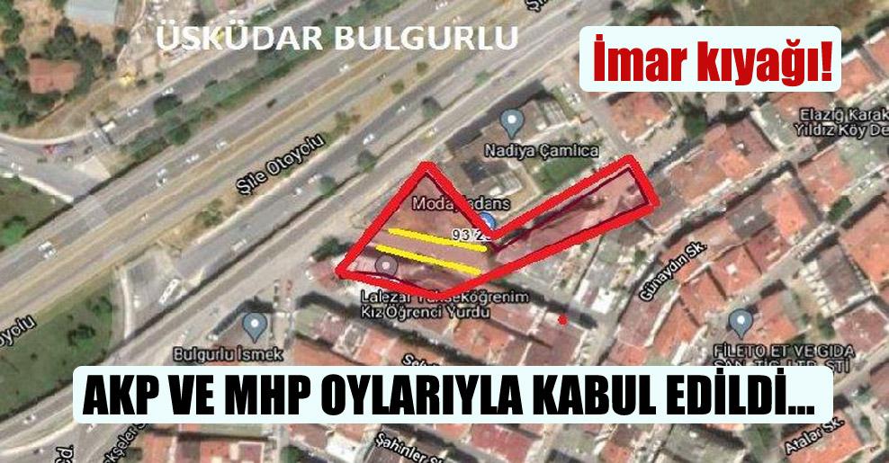 AKP ve MHP oylarıyla kabul edildi…