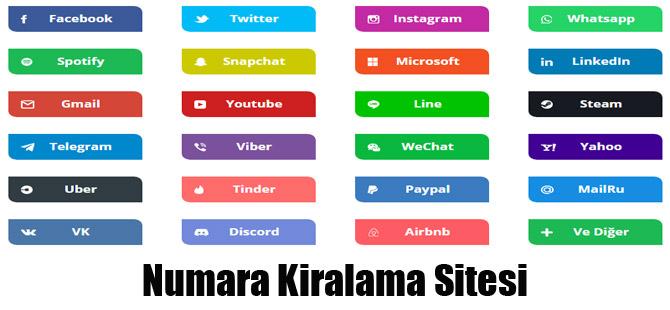 Numara Kiralama Sitesi
