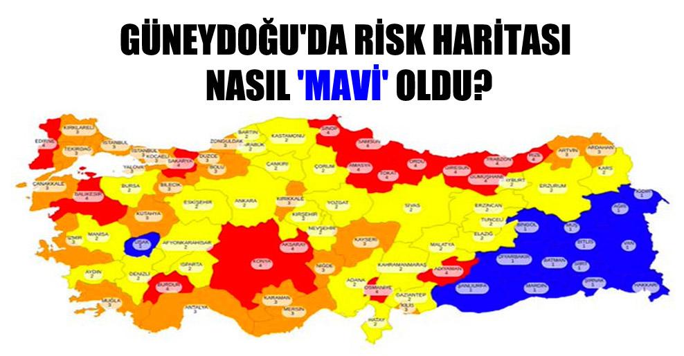 Güneydoğu'da risk haritası nasıl 'mavi' oldu?