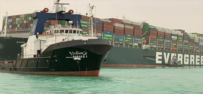 Mısır'ın ilk kadın kaptanından, 'Süveyş Kanalı'nı o tıkadı' yönündeki yalan haberlere yanıt