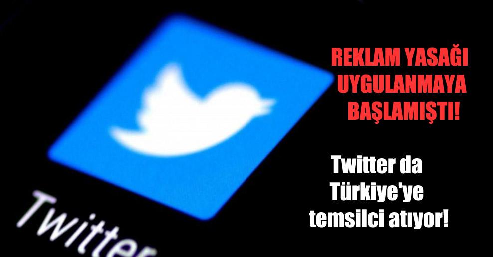 Twitter da Türkiye'ye temsilci atıyor!