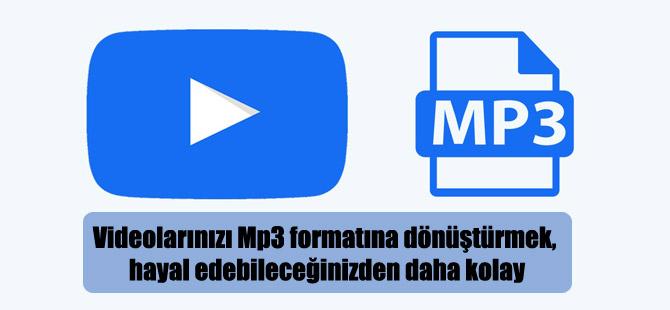 Videolarınızı Mp3 formatına dönüştürmek, hayal edebileceğinizden daha kolay