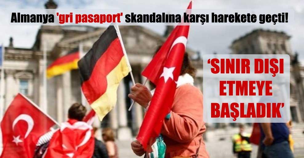 Almanya 'gri pasaport' skandalına karşı harekete geçti!