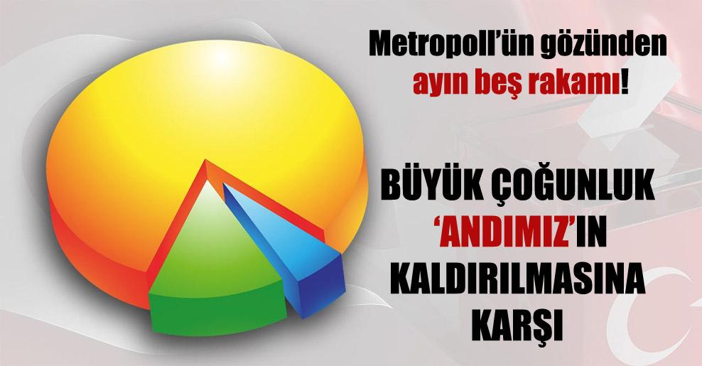 Metropoll'ün gözünden ayın beş rakamı!