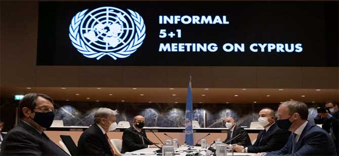 BM'den Kıbrıs açıklaması: Yeterli ortak zemin bulamadık