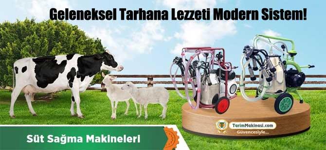 Geleneksel Tarhana Lezzeti Modern Sistem!