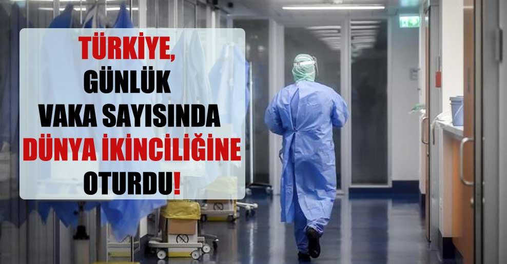 Türkiye, günlük vaka sayısında dünya ikinciliğine oturdu!