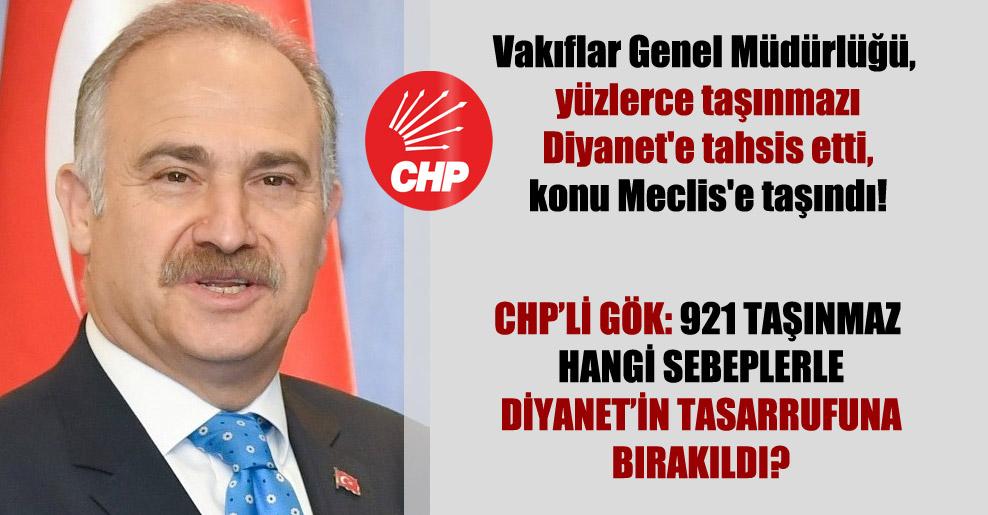 Vakıflar Genel Müdürlüğü, yüzlerce taşınmazı Diyanet'e tahsis etti, konu Meclis'e taşındı!