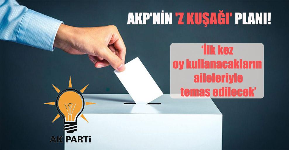AKP'nin 'Z kuşağı' planı!