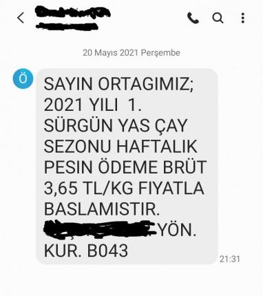 Özel Sektör SMS 1