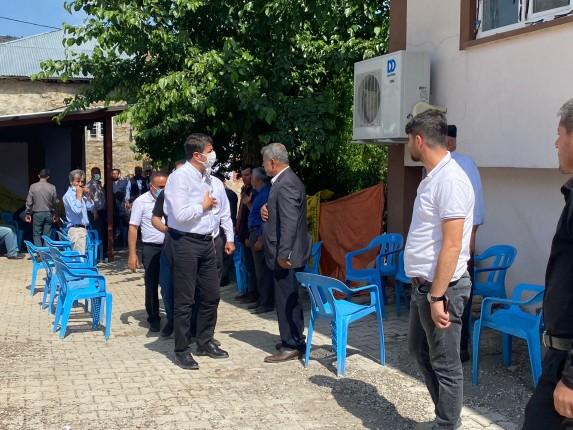 """MİLLETVEKİLİ TUTDERE BAYRAMDAN BU YANA """"YÜZE"""" YAKIN KÖYÜ ZİYARET ETTİ6"""