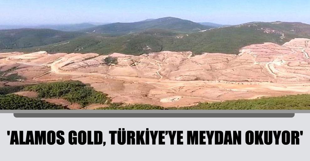 'Alamos Gold, Türkiye'ye meydan okuyor'