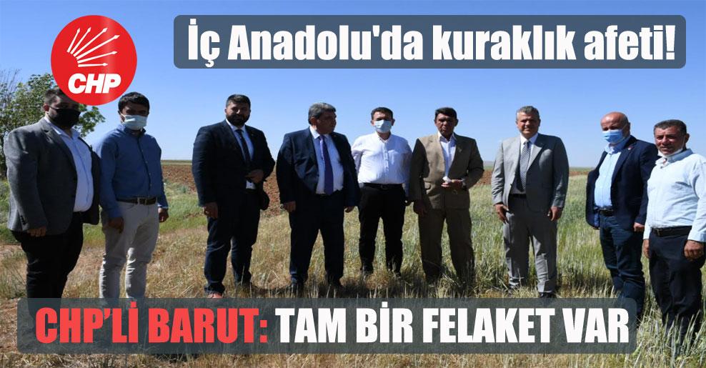 İç Anadolu'da kuraklık afeti! CHP'li Barut: Tam bir felaket var!