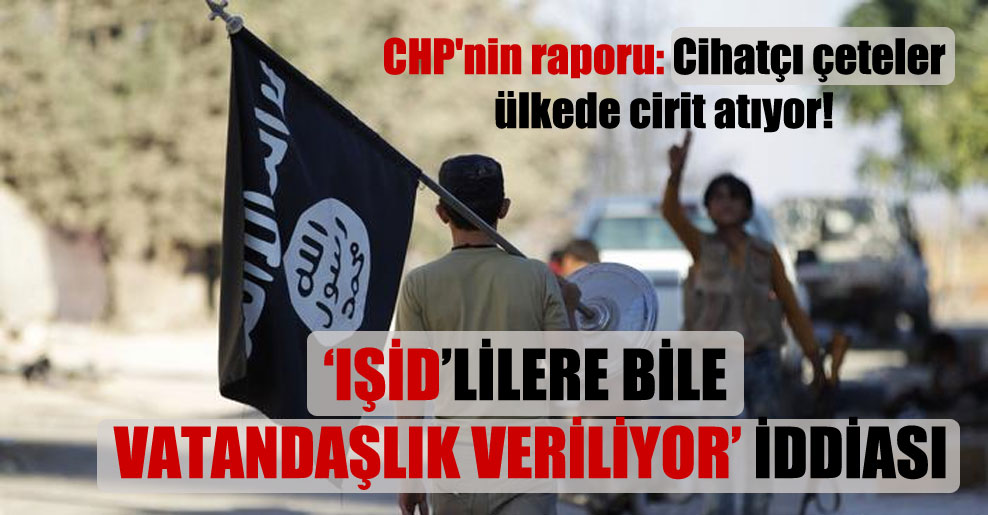 CHP'nin raporu: Cihatçı çeteler ülkede cirit atıyor!