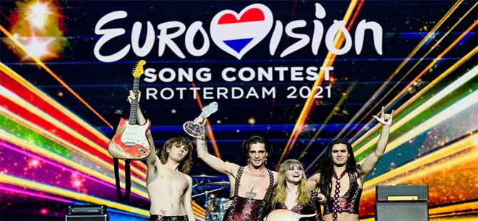 Eurovision 2021'in kazananı belli oldu: İtalya, 524 puan ile birinciliği elde etti