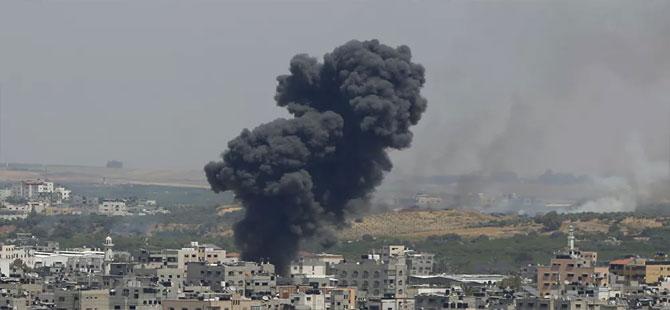 İsrail'de çatışmalar devam ediyor: Gazze'ye yoğun bombardıman