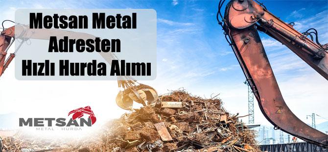Metsan Metal Adresten Hızlı Hurda Alımı