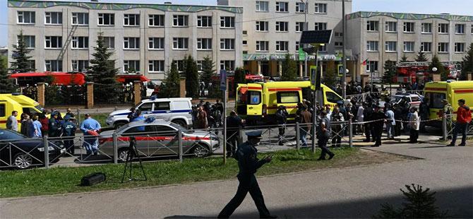 Rusya'da okula silahlı saldırı: Çok sayıda ölü var