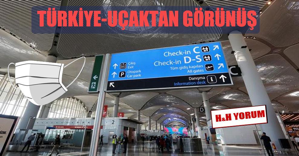 Türkiye-uçaktan görünüş