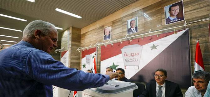 Suriye seçimleri başladı