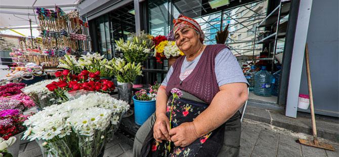Taksim çiçekçileri daha uygun mekanlarda!