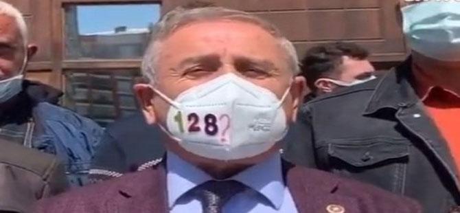 CHP'li Kaya: Biz de bu maskeyi takıyoruz!