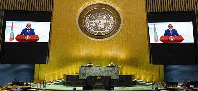 BM 76. Genel Kurul Başkanlığı'na Maldivler Dışişleri Bakanı Abdulla Shahid seçildi