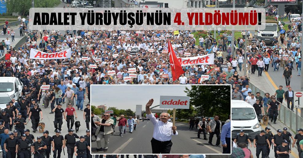 Adalet Yürüyüşü'nün 4. yıldönümü!