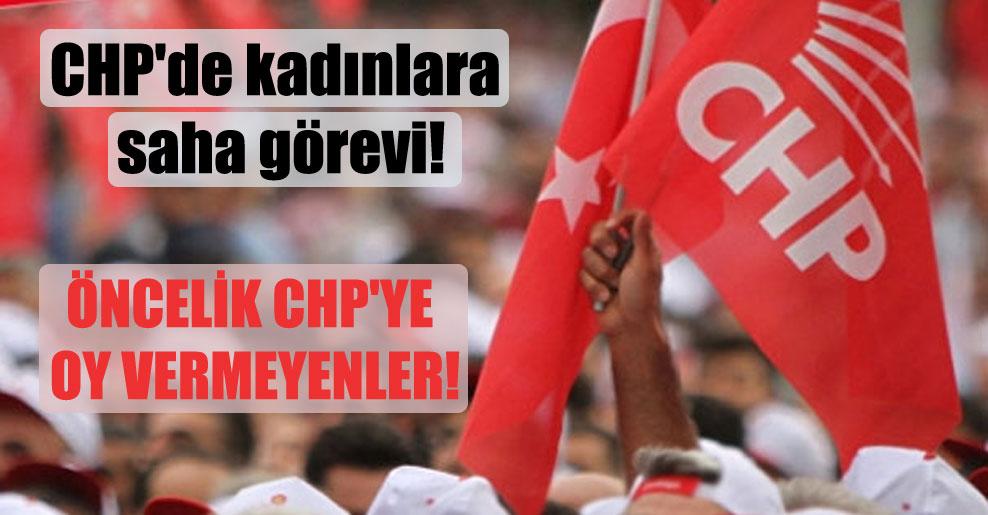 Öncelik CHP'ye oy vermeyenler!