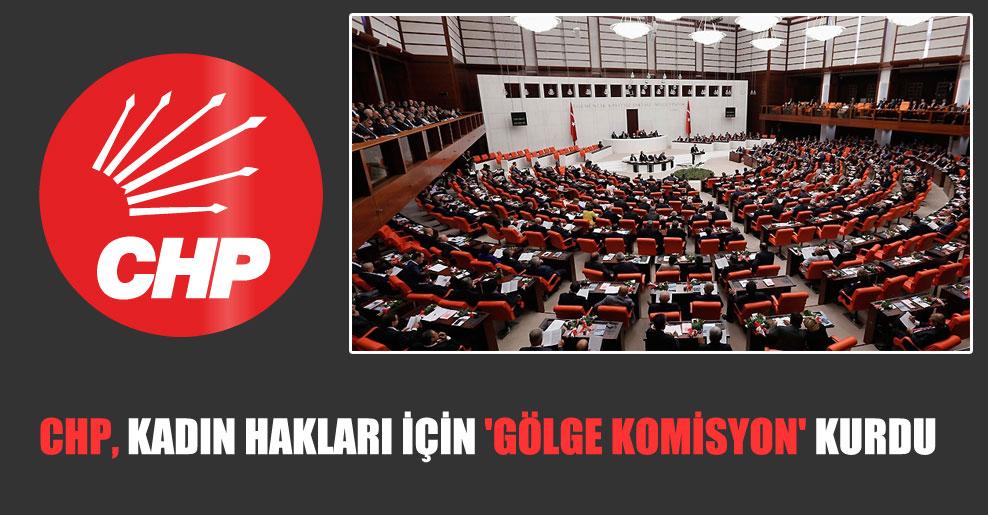CHP, kadın hakları için 'gölge komisyon' kurdu