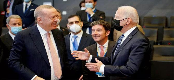 Erdoğan-Biden görüşmesi sona erdi