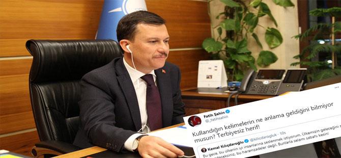 AKP'nin hukukçu Genel Sekreteri Fatih Şahin'den CHP lideri Kılıçdaroğlu'na: Terbiyesiz herif!