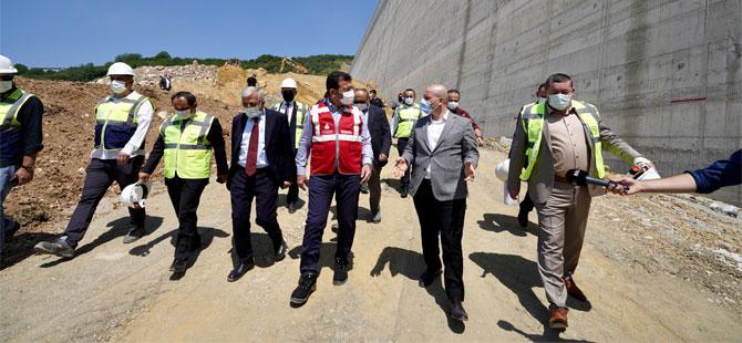 İmamoğlu'ndan Melen Barajı'na üçüncü ziyaret!