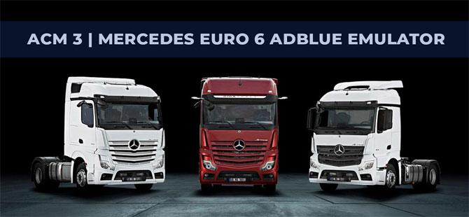Mercedes Euro6 Emulator