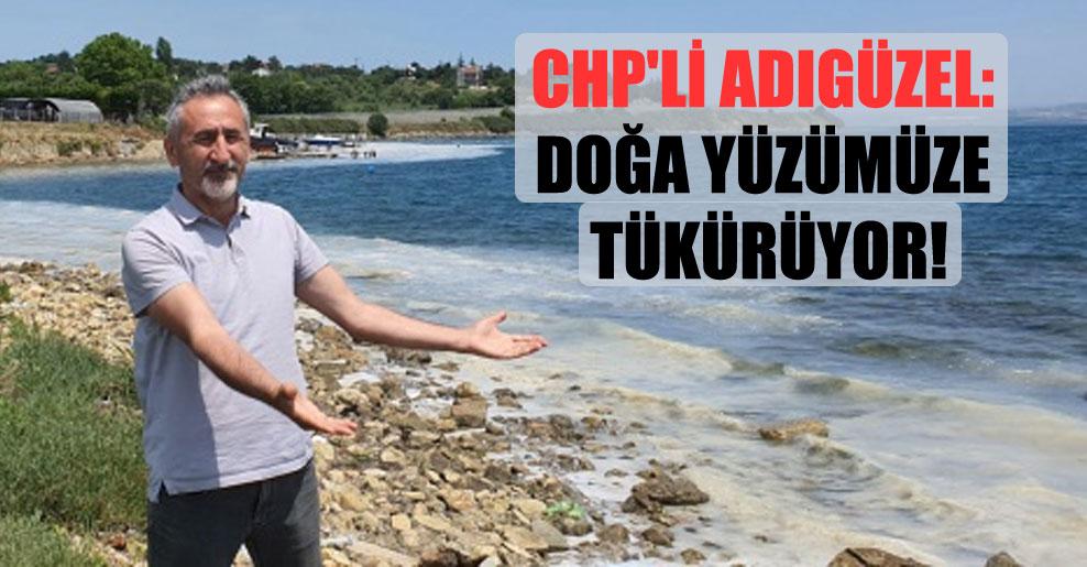 CHP'li Adıgüzel: Doğa yüzümüze tükürüyor!