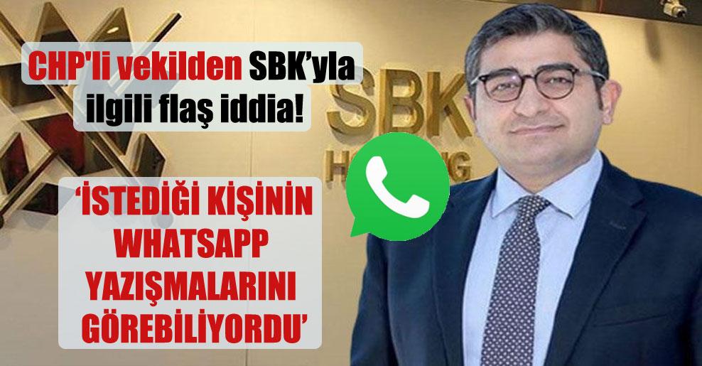 CHP'li vekilden SBK'yla ilgili flaş iddia!