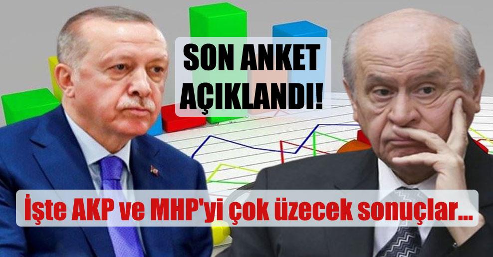 Son anket açıklandı! İşte AKP ve MHP'yi çok üzecek sonuçlar…