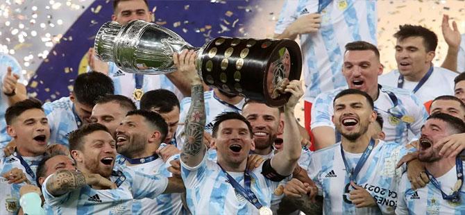 Copa Amerika'da şampiyon Arjantin