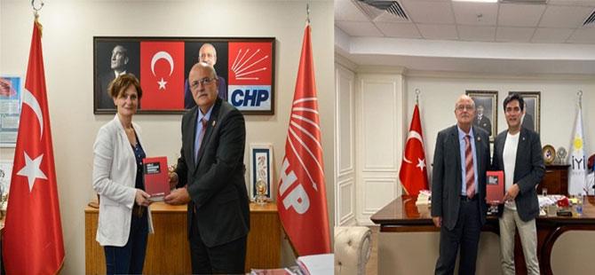 BTP'den CHP ve İYİ PARTİ'ye ziyaret!