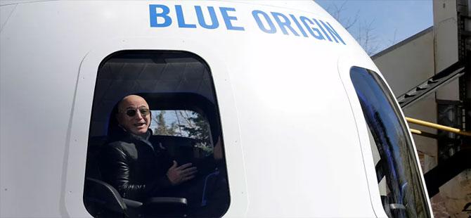 Jeff Bezos bugün uzaya fırlatılacak