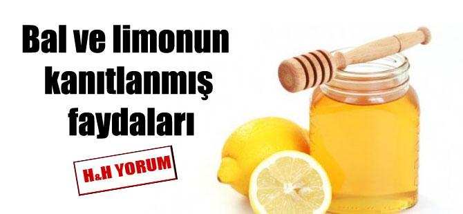 Bal ve limonun kanıtlanmış faydaları