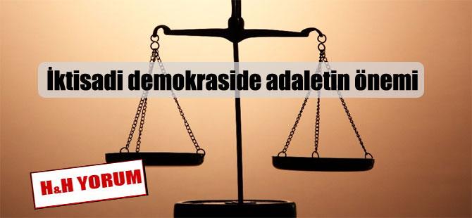 İktisadi demokraside adaletin önemi
